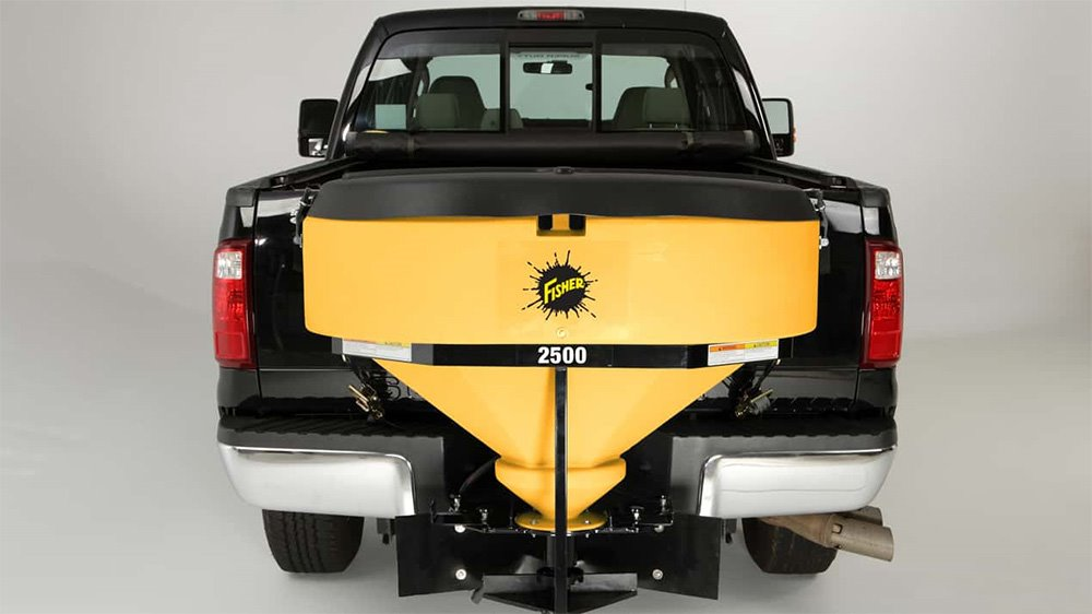 Western Low Profile Model 2500 Tailgate Spreader on