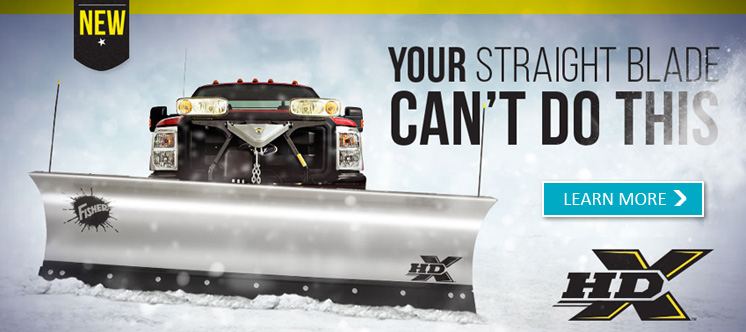 Fisher HDX Snow Plow