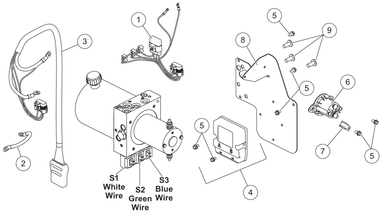 arctic snow plow pump diagram arctic image wiring qte fisher parts fisher snow plow and spreader parts on arctic snow plow pump diagram