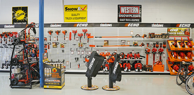 Power Equipment Store Display