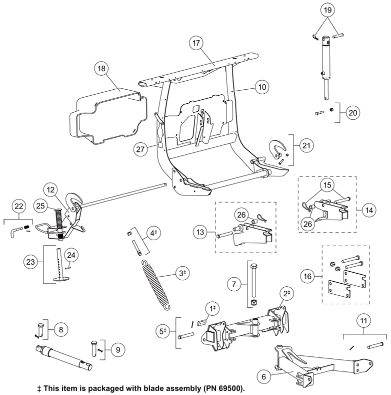 Wiring Diagram For Western Unimount Snow Plow from www.4qte.com