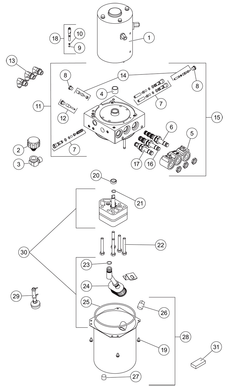 western plow hydraulic diagram qte   western parts   western snow plow and spreader parts