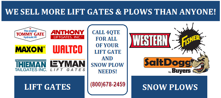 Buy Snow Plows and Lift Gates from QTE