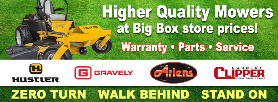 Lawn Mowers, Zero Turn Mowers, Walk Behind Mowers, Stand On Mowers