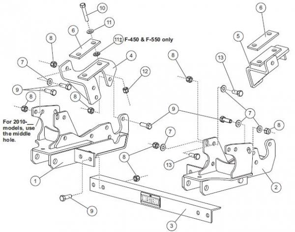 Western 31269 1 Ultramount Kit