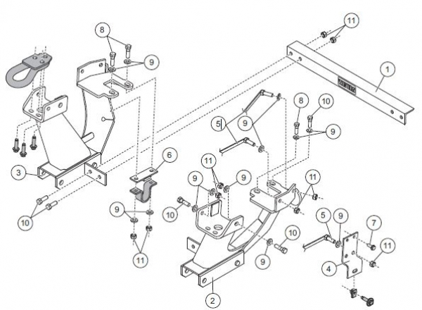 Power Hitch 2 further Salt Spreader Wiring Diagram together with Western parts uni heavy in addition New 97 04 Ford F 150 F 250ld Western Unimount 62225 1225 Plow Mount further Boss Plow Part Msc04848 Plate Bolt 58 Dia Shim Rt3 Dodge 03. on western snow plow truck mounts