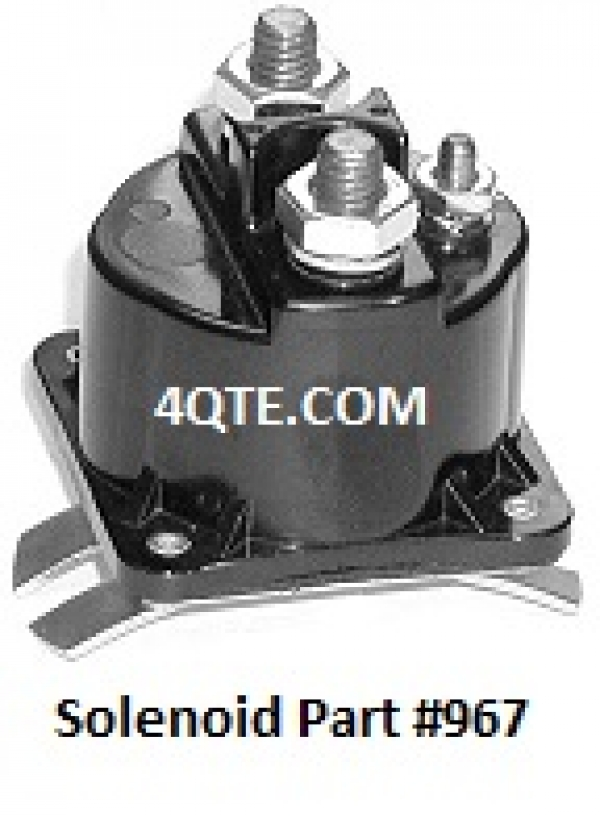 Tommy Gate 967 3-Post Raise Solenoid
