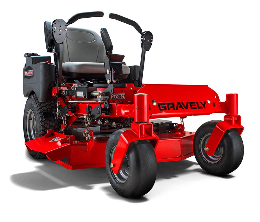 Gravely Compact-Pro 34 Zero-Turn Riding Lawn Mower on