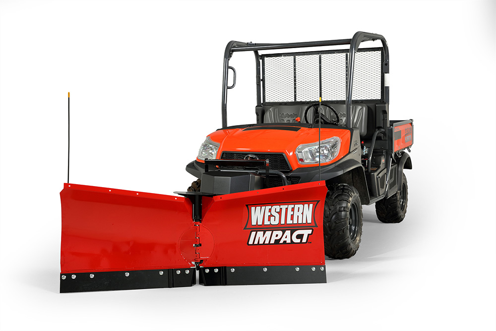 Western Impact UTV Snow V-Plow on