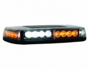Mini LED Light Bar 8891042 - 12 Amber & 12 Clear Diodes