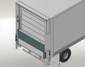 Leyman Railgate FXD Fold-A-Vador Flatbed / Stake Liftgate