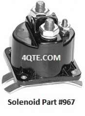 Tommy Gate 3 Post Raise Solenoid 967