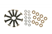 Western 64183 Pro Plow Back Drag Bolt Kit