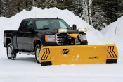 Fisher XLS Expandable Length Winged Snow Plow