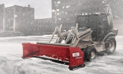 Western Pile Driver Steel Edge Snow Pusher
