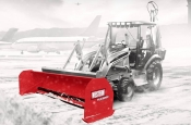 Western Pile Driver Snow Pusher Containment Snow Plow