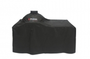 Primo Grill Cover for Primo Oval XL 400 & Oval LG 300 with Counter Top Table