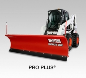 Western Pro-Plus for Skid Steer Snow Plows | 4QTE.com