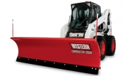Western Pro Plus Skid-Steer Snow Plow