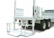 Waltco RBGL Series Bottled Gas Rail-Type Van Body / Trailer Liftgate