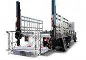 Waltco WDVBG Series Bottled Gas Rail-Type Flatbed / Stake Liftgate