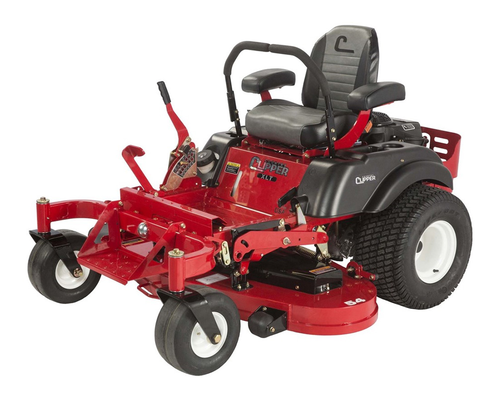 Country Clipper XLT Zero-Turn Riding Lawn Mower on